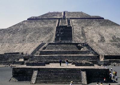 Teotihuacan-Sonnenpyramide