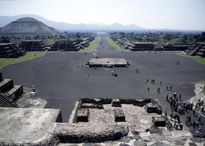 Teotihuacan-Avenida de los muertos