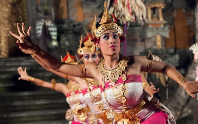 Balinesische Tänze – Legong