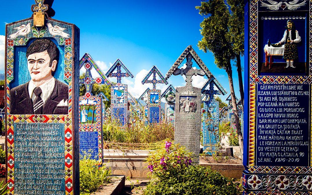 Ein fröhlicher Friedhof